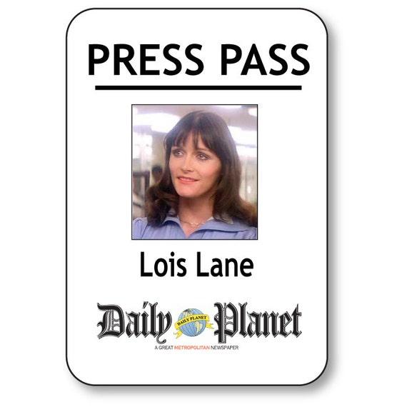 Agile image pertaining to lois lane press pass printable