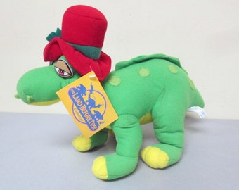 """The Land Before Time Spike Christmas 14"""" Plush Doll Dinosaur Stuffed Animal Toy"""