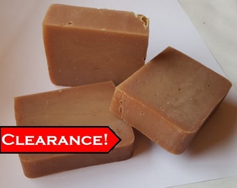 Sale! Harvest Apple- Handmade Soap with Shea and Cocoa Butter- 4 oz. bar