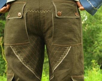 Men's pants Commander's Pants / linen trousers / khaki pants
