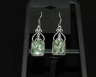 CLEARANCE *Seraphinite Charm  Earrings