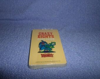Dynomutt Card game by Hoyle Cartoon NIP Scrapbook dated 1979 Dog Wonder Hanna Barbara