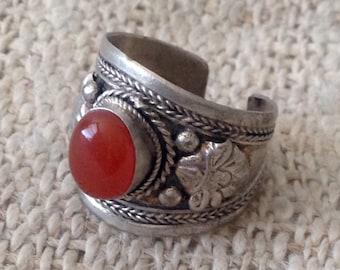 Vintage Coral Ring