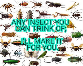 Flatware Insects