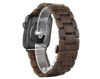 Walnut Wood Apple Watch Band