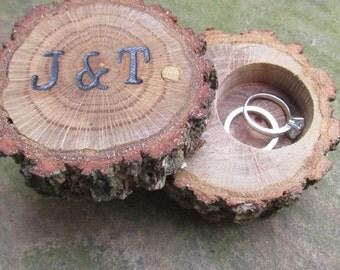 Customized Wedding Ring Holder