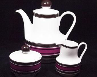 3 piece tea service by Winterling Roslau Bavaria