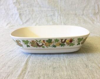 Vintage Noritake Progression Homecoming Oval Vegetable Bowl