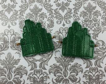 Emerald City Hair Accessory, Bobby Pin Hair Accessory, Oz inspired