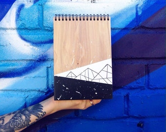 Sketch book West with