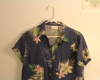 Tropical Flower Top
