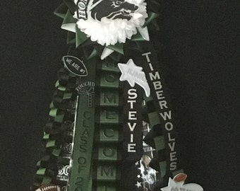 Homecoming Garter, Single himecoming garter, Football garter, Basketball homecoming garter