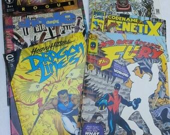 Vintage Comics, Lot of Comics, Comic Books, Ephemera