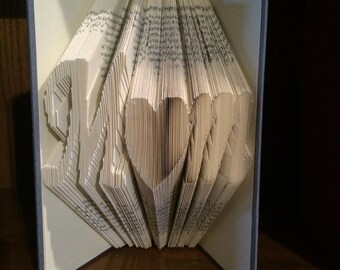 Ready to Ship* Mother's Day Mom Folded Book Art