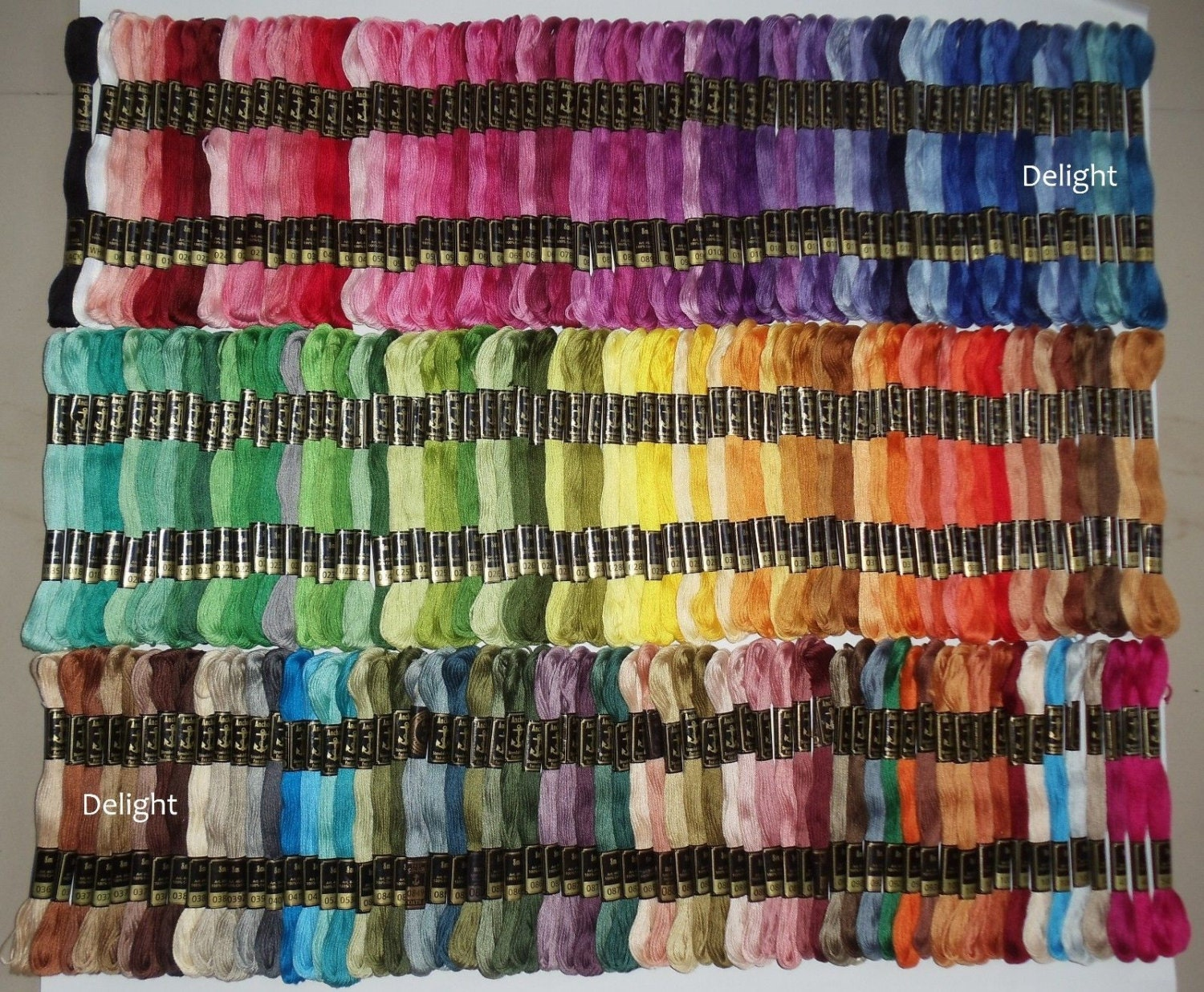 Anchor Embroidery Thread/Floss / Skeins In 200 Different