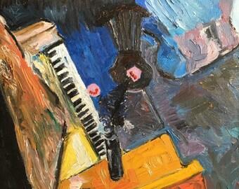 Van Gogh's piano