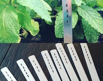 Heavy Aluminum Garden Markers
