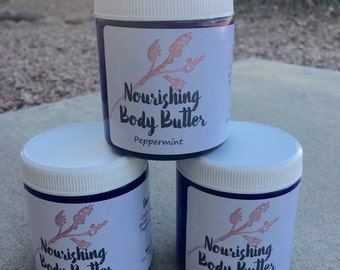 Whipped Cocoa & Shea Butter Body Lotion with Essential Oils