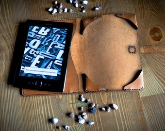 Kindle paperwhite cover, gift for him, Kindle leather cover, Kindle Touch cover, Kindle Paperwhite case, Ebook cover, girlfriend gift
