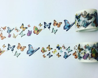 Beautiful butterfly washi tape
