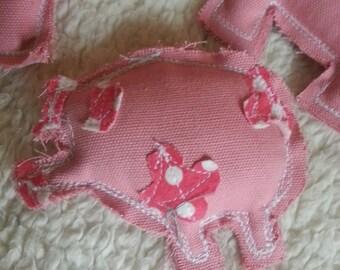 Piggie Dog Toy