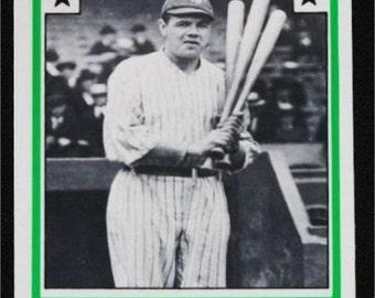 "2"" x 3"" Magnet Babe Ruth Baseball Card Vintage"