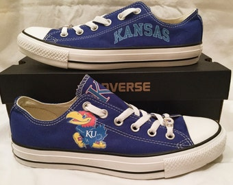 University of Kansas Jayhawks KU Converse Chuck Taylor Sneakers