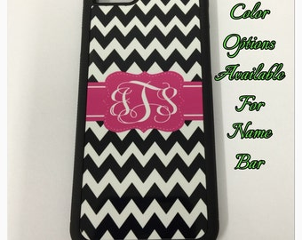 Black chevron Monogram iPhone case for 6 5 5s 5c 4 4s 6 plus black chevron monogram iPhone cover case new