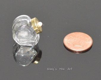 1:12 miniature Candy Jar with Lid/ Dollhouse miniature cookie Jar HB070
