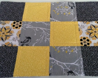 Black, Yellow & Grey Placemats