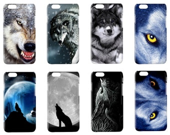 Wolf phone case for Iphone 4 4S 5 5S 6 6plus Samsung Galaxy S3 S4 S5 S6 Note 2 Sony Xperia Z2 wolves cover