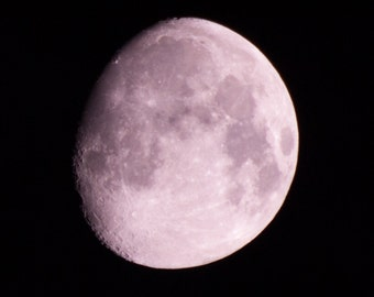 the moon  on 30 x 20 canvas high definition wall art