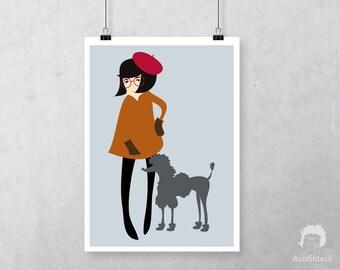 Paris Digital Print Download