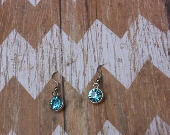 Sea Crystal Earrings