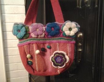 Textile Andean shoulder bag