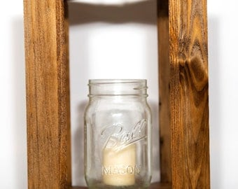 Outdoor Mason Jar Lantern