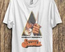 Vintage Style Unisex A Clockwork Orange Droog Printed T Shirt S M L XL
