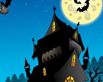 Halloween Libro da Colorare 1