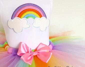 Pastel Rainbow Tutu Set