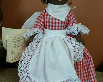 "Gambina Doll ""Odella"" The Praline Lady of New Orleans/Collect Doll/New Orleans Street Vendor/Aunt Jamima Style Doll/Americana"