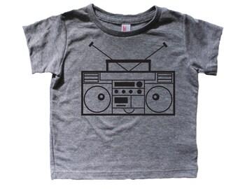 Kawaii Boombox, Graphic Toddler Baby Kid Tee shirt, Hipster baby t shirt, hipster toddler tshirt