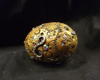 Gold Dragon Egg OOAK Sculpt