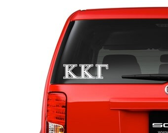 Kappa Kappa Gamma  Community Sorority Society People Stickers Decal Label Die Cut Party Decoraton