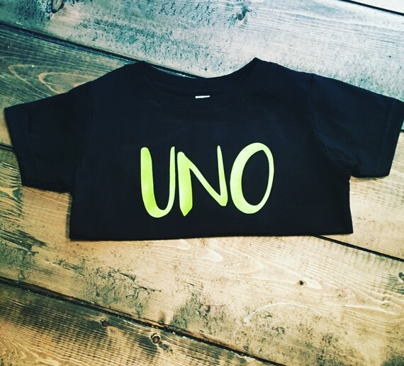 Uno First Birthday Shirt By MommyMadeItGa On Etsy