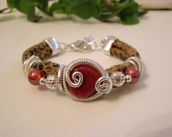Wrap Wire Bracelet, Stilish Bracelet