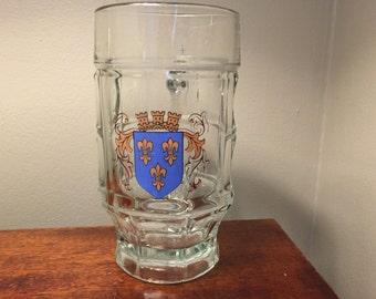 Beer Stein, Beer Mug, Sahm Beer Stein, Wiesbaden Coat of Arms, Vintage