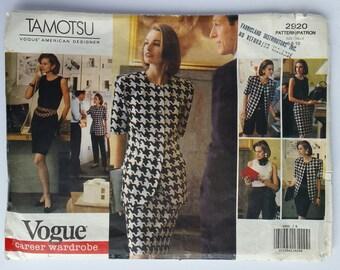 Vogue 2920 Tamotsu Vogue American Designer