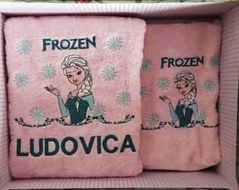 Set face towel + guest frozen