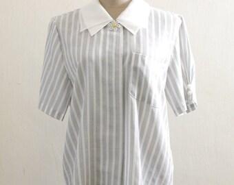 Black & White Stripe shirt