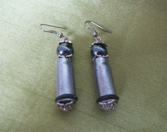 Comics Harley Quinn Earrings,  Harley Quinn Earrings bullets. Bullet Earrings, Earrings bullet Comics Harley Quinn